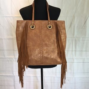 Mossimo NWOT Faux Leather Tote Bag
